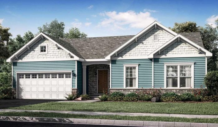 Ready To Build Home In Cortland Park 55+ Living Community