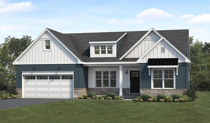 Ready To Build Home In Sweetbriar 55+ Living Community