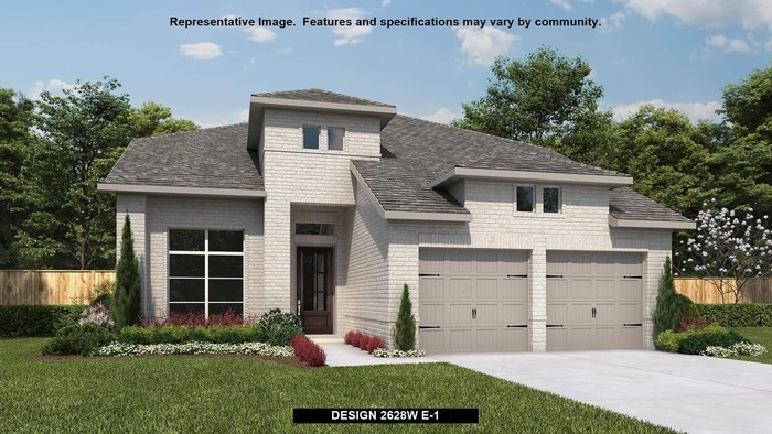 Ready To Build Home In Wolf Ranch 51' Community