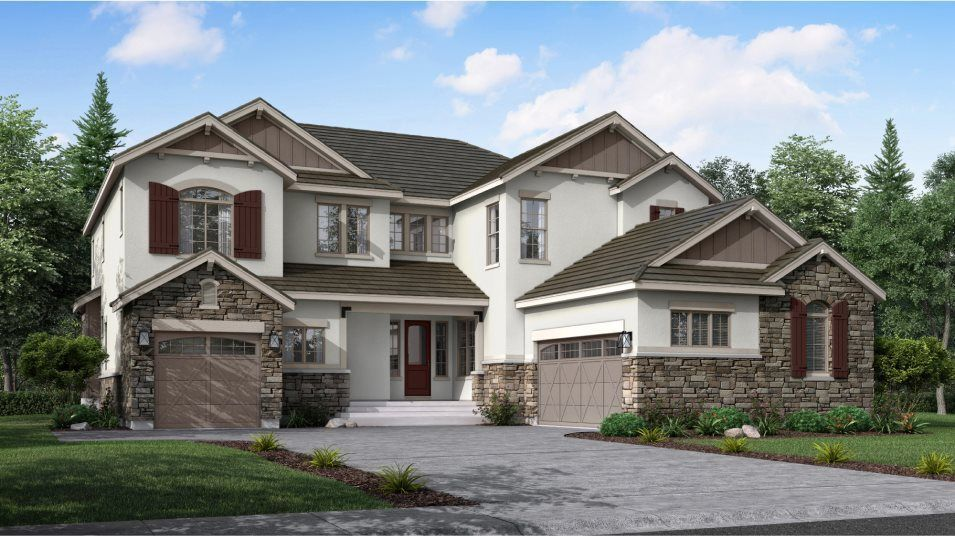 Ready To Build Home In Wild Plum Community