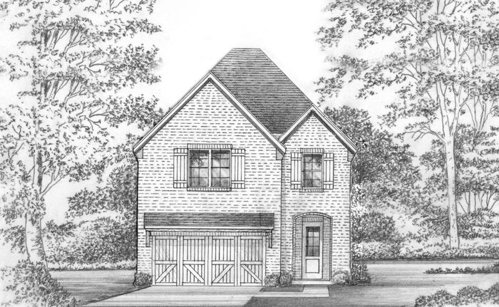 Ready To Build Home In Castle Hills Northpointe Community