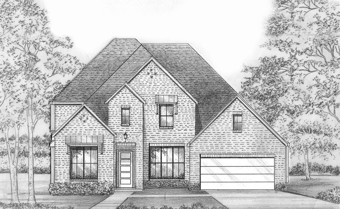 Ready To Build Home In Estates at Rockhill - Phase 3 Community