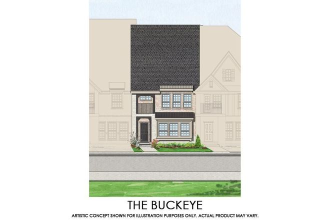 Ready To Build Home In Mercer Crossing  Kensington Townhomes Community