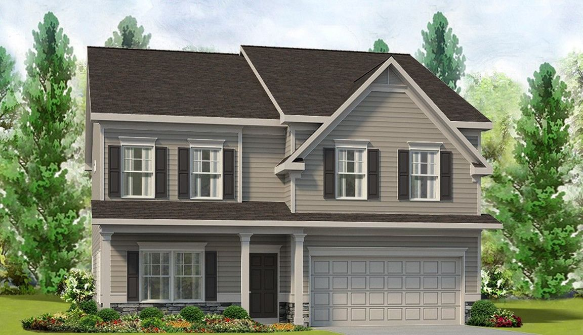 Ready To Build Home In Legacy Farm Community