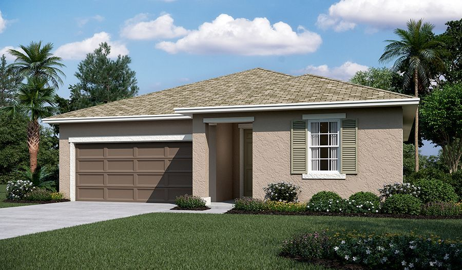 Ready To Build Home In Seasons at River Chase Community