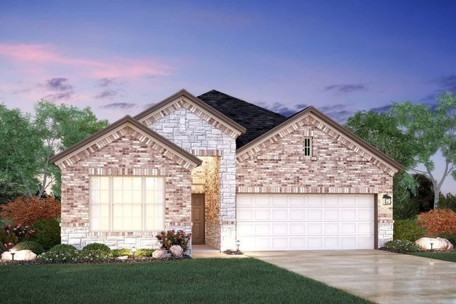 Ready To Build Home In Hills at Estancia Community