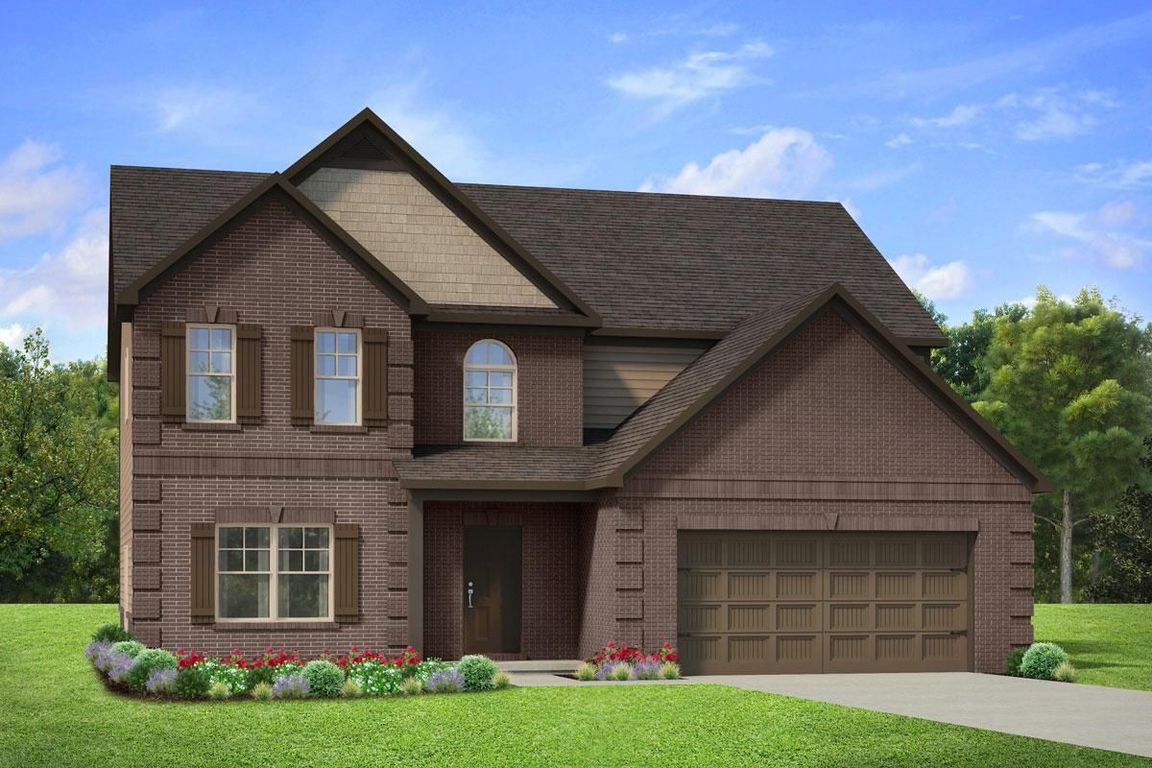 Ready To Build Home In Camp Creek Village Community