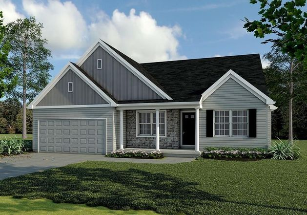 Ready To Build Home In Eagles View Community