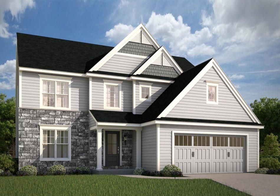 Ready To Build Home In Kendale Oaks Community