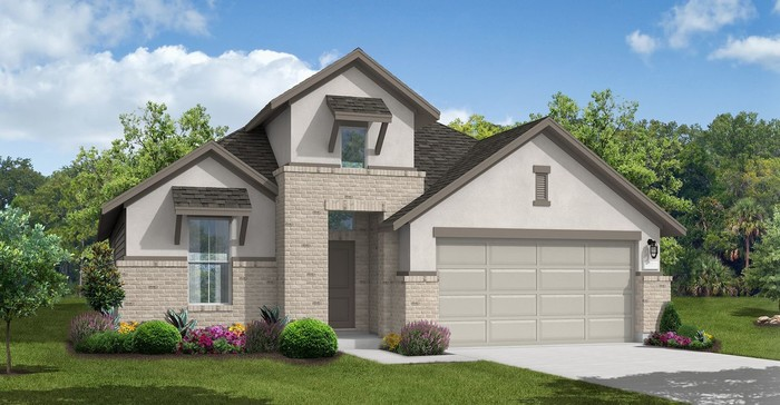 Ready To Build Home In Grove Landing Community
