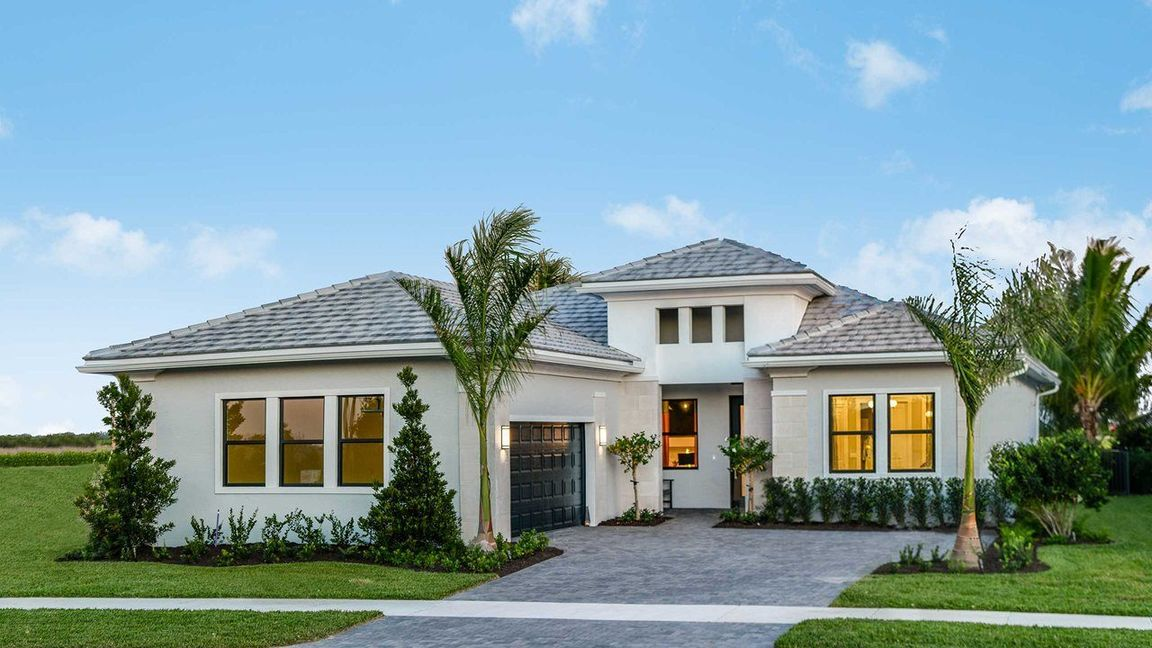 Ready To Build Home In Cresswind Palm Beach Community