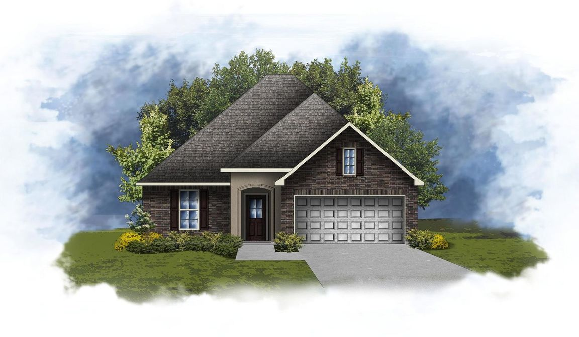 Ready To Build Home In Majestic Manor Community