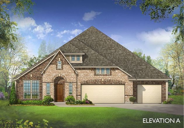 Ready To Build Home In North Grove Community