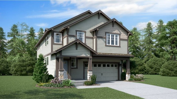 Ready To Build Home In Glacier View Community