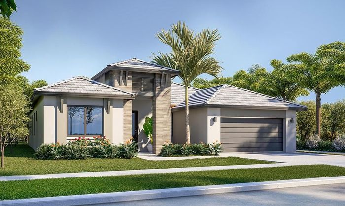 Ready To Build Home In Marbella Community