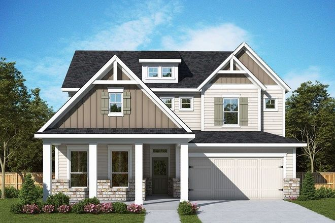 Ready To Build Home In The Crossvine 50' Community