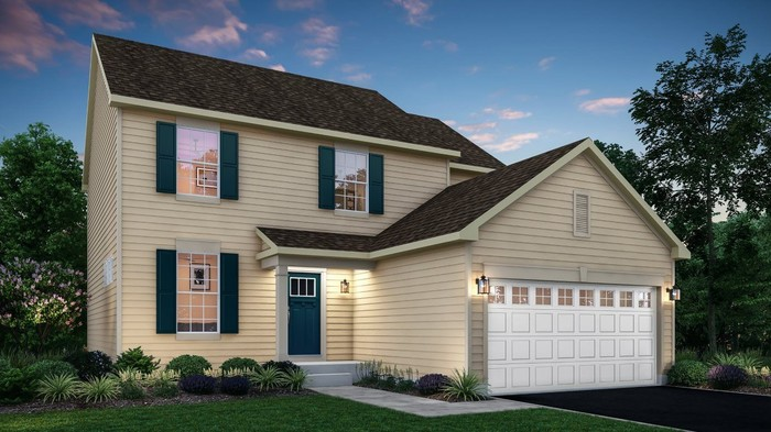 Ready To Build Home In Lakewood Prairie Community