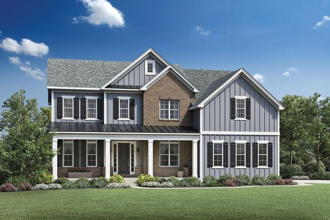 Ready To Build Home In The Woods of South Barrington - Signature Collection Community