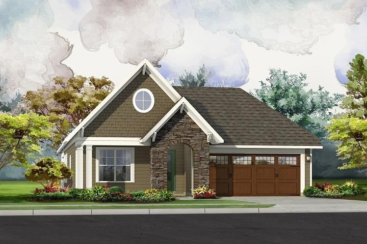 Ready To Build Home In Addison Park Community