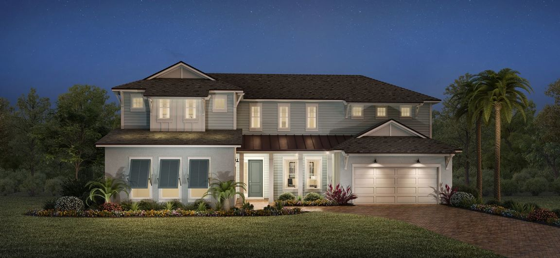 Ready To Build Home In Bartram Ranch Community