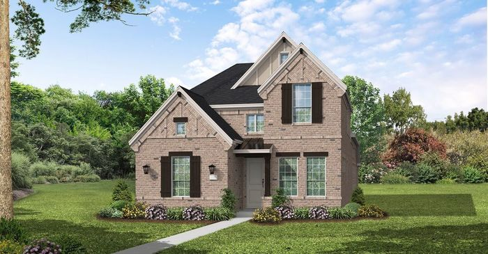Ready To Build Home In Viridian Chalet Series Community