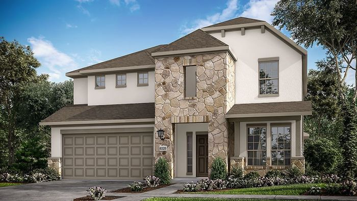 Ready To Build Home In The Ridge at Northlake 50s Community