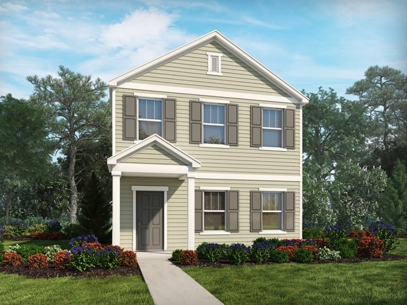 Ready To Build Home In Amberley - The Promenade Series Community