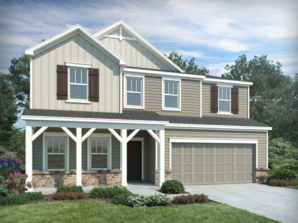 Ready To Build Home In Amberley - The Piedmont Series Community