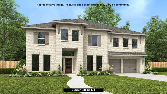 Ready To Build Home In Jordan Ranch 65' Community