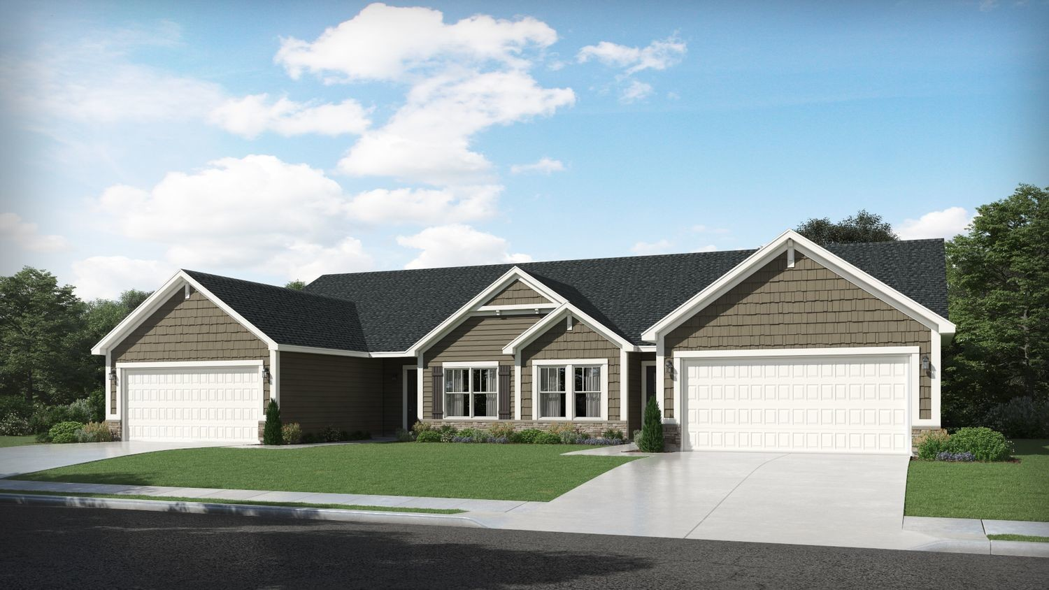 Ready To Build Home In Walkerton Park Community
