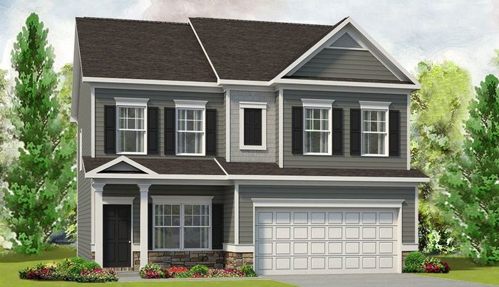 Ready To Build Home In Escalades Community