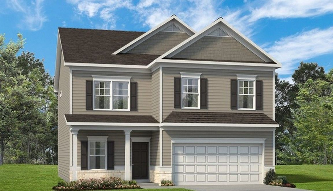Ready To Build Home In Phoenix Crossing Community