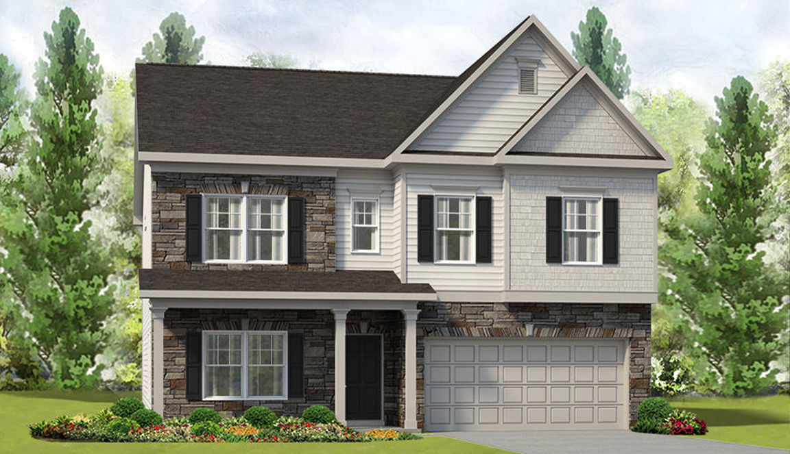 Ready To Build Home In Amberwood Community