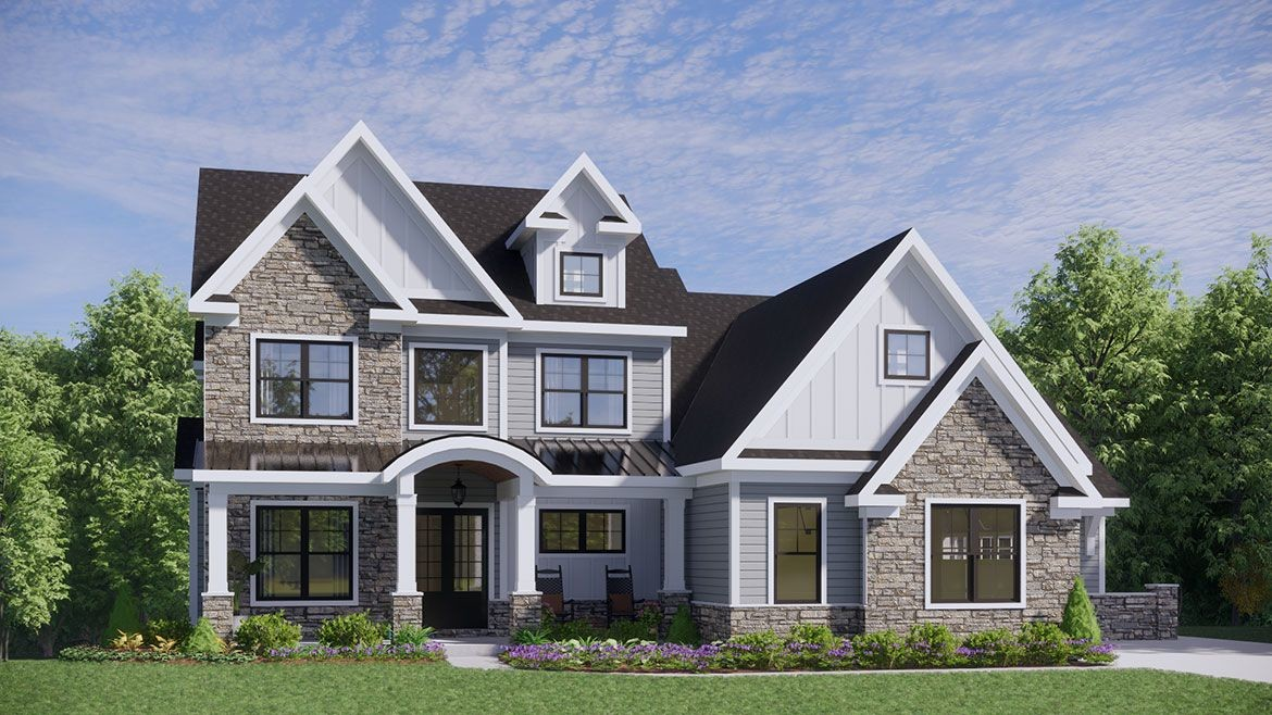 Ready To Build Home In Cypress Fields Community