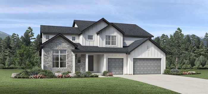 Ready To Build Home In Montaine - Estate Collection Community