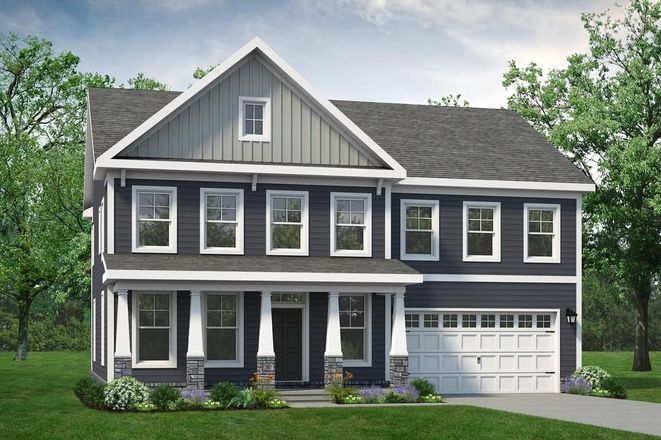 Ready To Build Home In The Preserve at Lake Meade Community