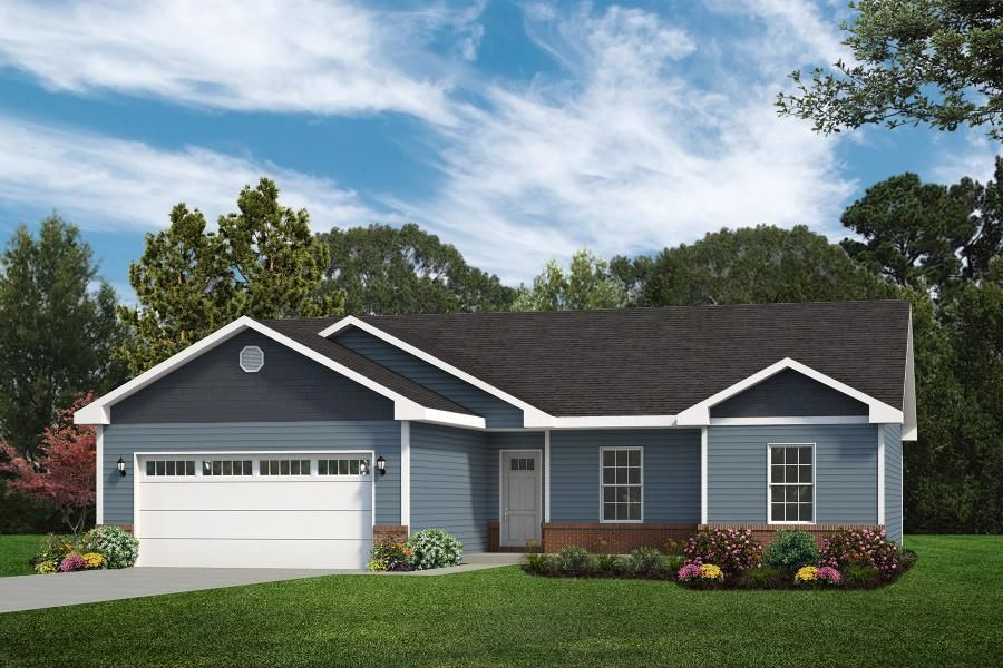 Ready To Build Home In Country Club Hills Community