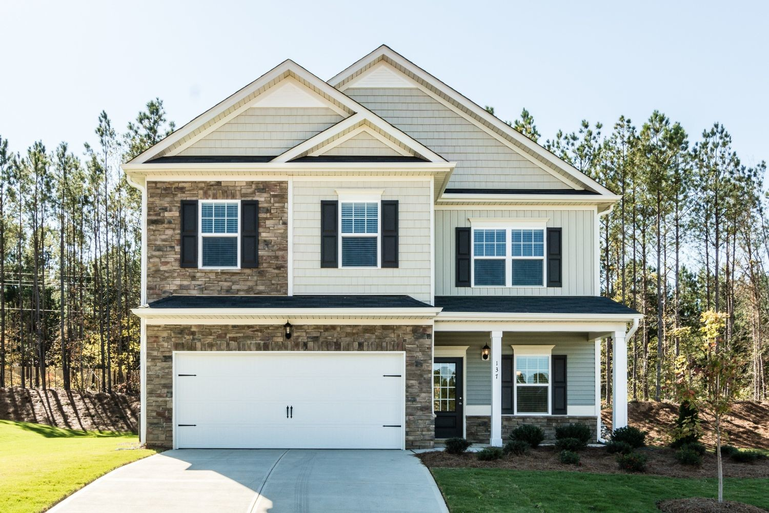 Ready To Build Home In Springs Crossing Community