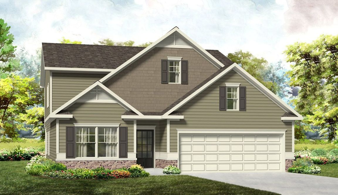 Ready To Build Home In Twin Ridge Community