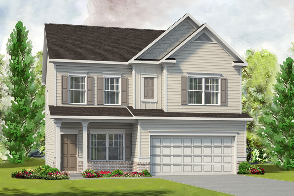 Ready To Build Home In McIntosh Trails Community