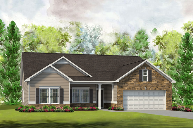 Ready To Build Home In Locust Town Center Community