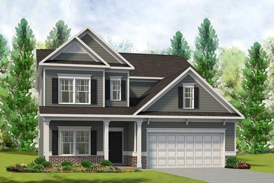 Ready To Build Home In Trinity Crossing Community