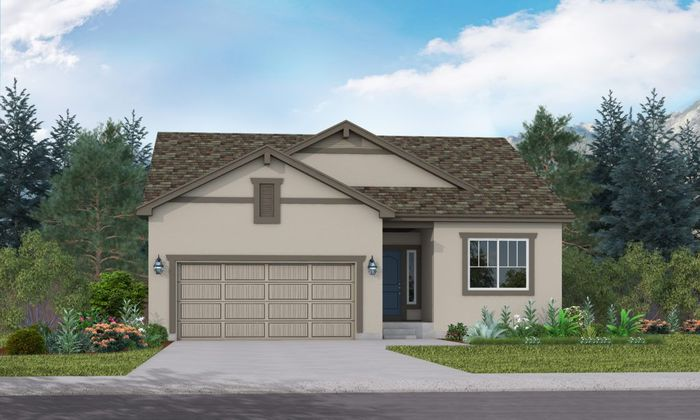 Ready To Build Home In Cordera Community