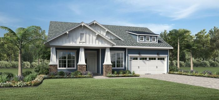 Ready To Build Home In The Landing at Beacon Lake Community