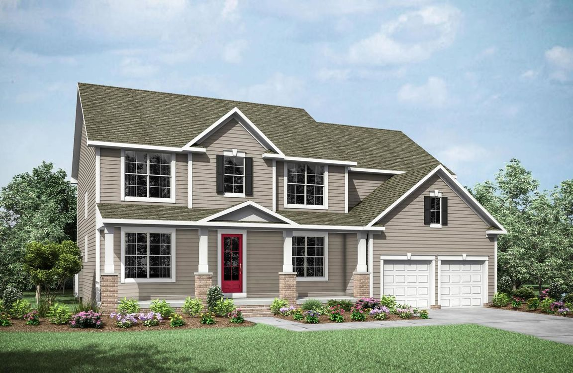 Ready To Build Home In Cates Landing Community