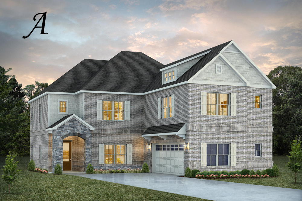 Ready To Build Home In Walter's Branch Community