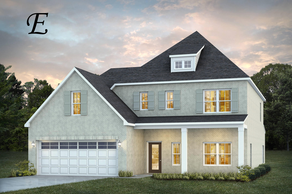 Ready To Build Home In Donahue Ridge Community