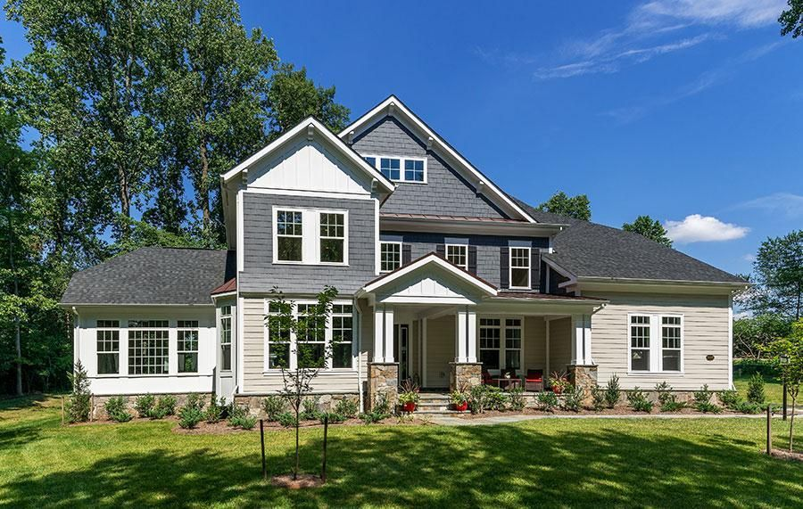 Ready To Build Home In CarrHomes Custom Build - Fairfax and Loudoun County Community