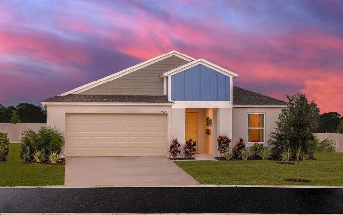 Ready To Build Home In Riverstone Community