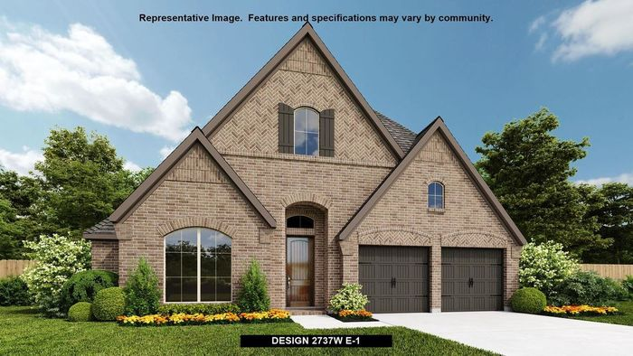 Ready To Build Home In Lakes of Bella Terra West 50' Community